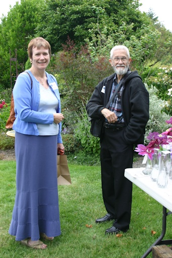 Brewster with Fiona Woolfenden in 2005©Ken Woolfenden
