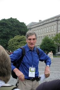 Barry Toomey as a Dublin Tour Guide, Ireland 2006