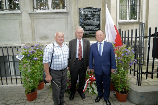 Unveiling of the memorial plaque©Tomasz Banasik