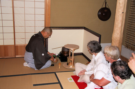 Tea Ceremony at Kasui Lily Gardens